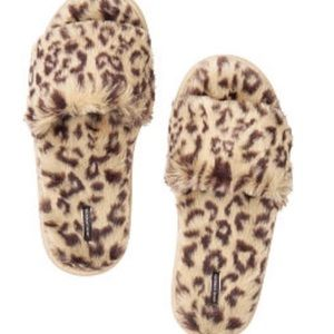 Victoria's Secret Leopard Slippers